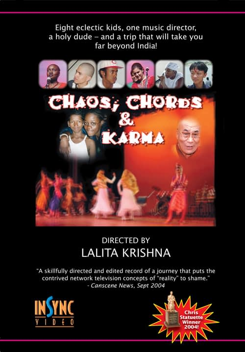Chords, Chaos and Karma Documentary Poster