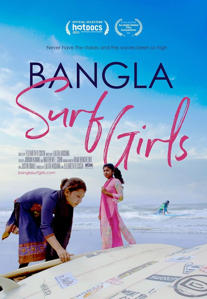 Bangla Surf Girls Documentary Poste - Hot Doc 2021 Selection