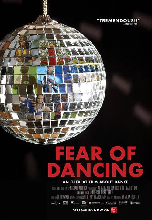 Fear of Dancing Documentary Poster